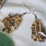 Bronze Pizzazze Earrings
