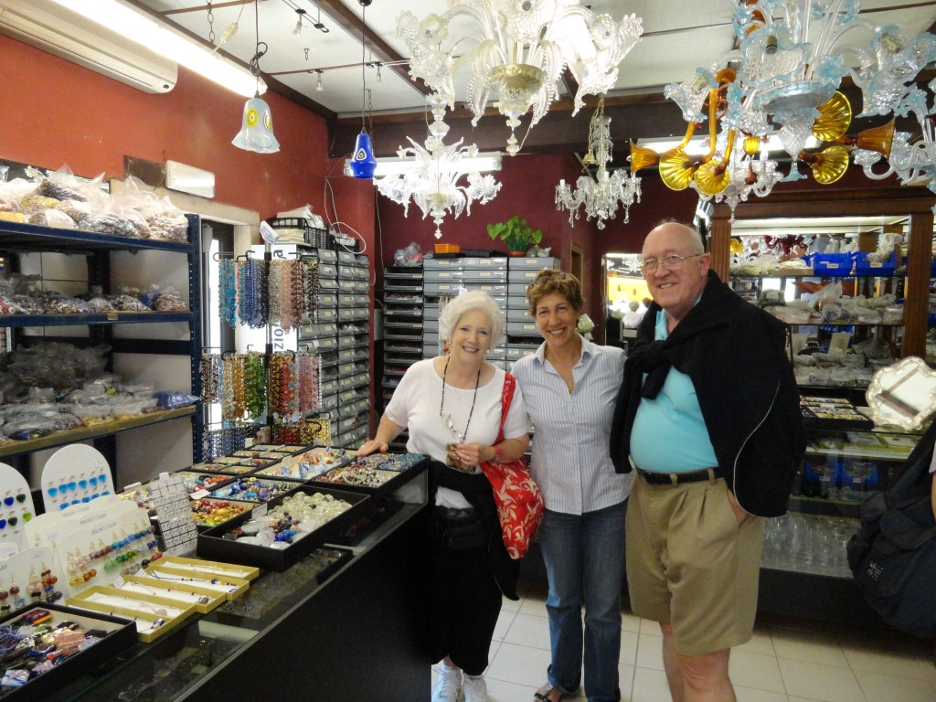 Glass Bead Selection In Murano Italy